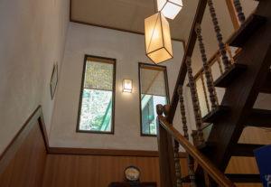 緑風亭:階段